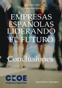 """Conclusiones Cumbre CEOE """"Empresas Españolas: Liderando el Futuro"""""""
